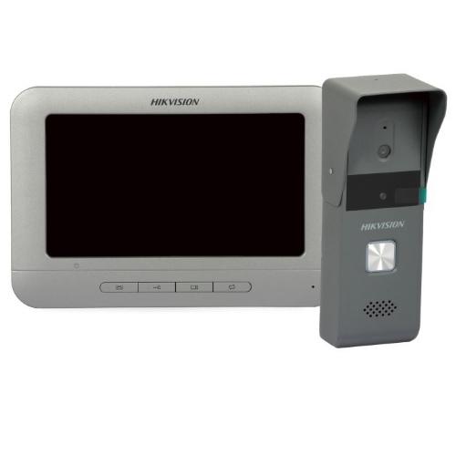 Вызывная панель + аналоговый домофон Hikvision